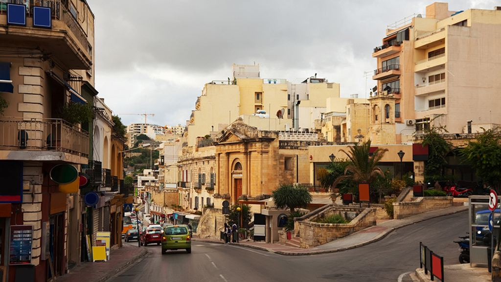 St. Julian's is where Malta comes to play – restaurants, bars and strip clubs line the roads. (Shutterstock)