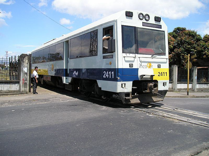 "The ""Apollo"" trains in use in Costa Rica."