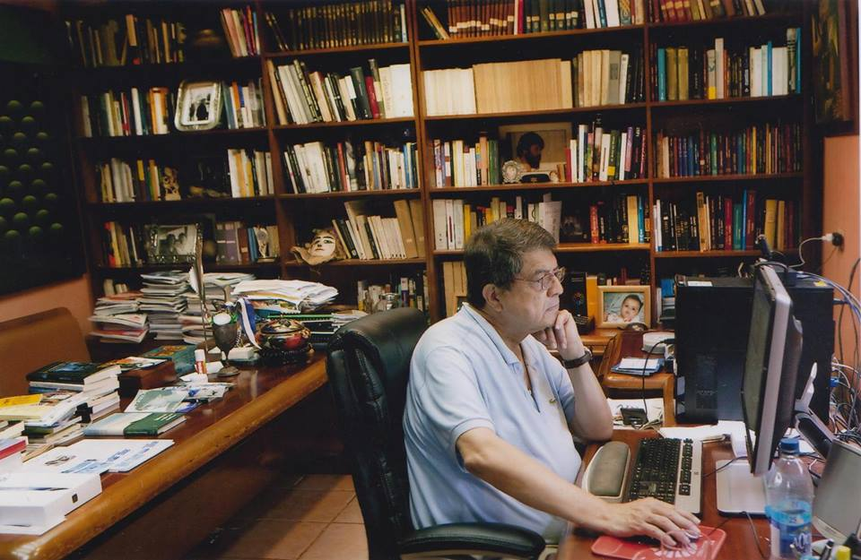 Nicaraguan writer and former vice-president in the Ortega 1985-1990 administration, Sergio Ramirez. Photo from Facebook