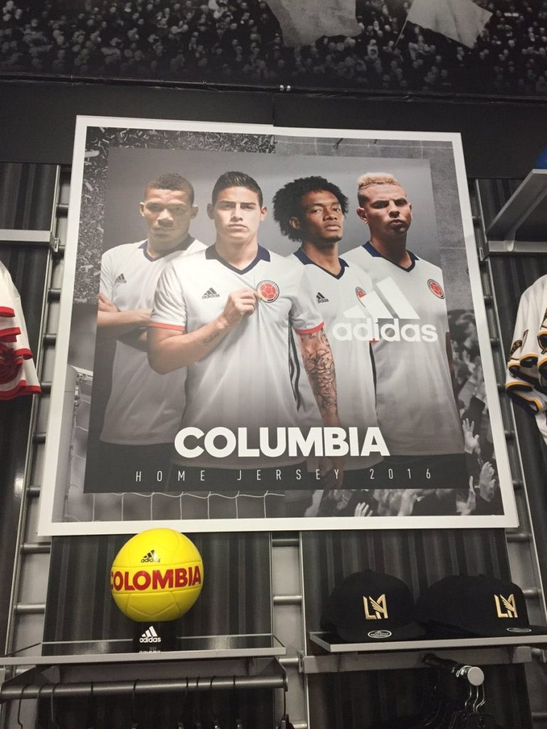 "Adidas apologized for ""Colombia"" spelling mistake #ItsColombiaNotColumbia"