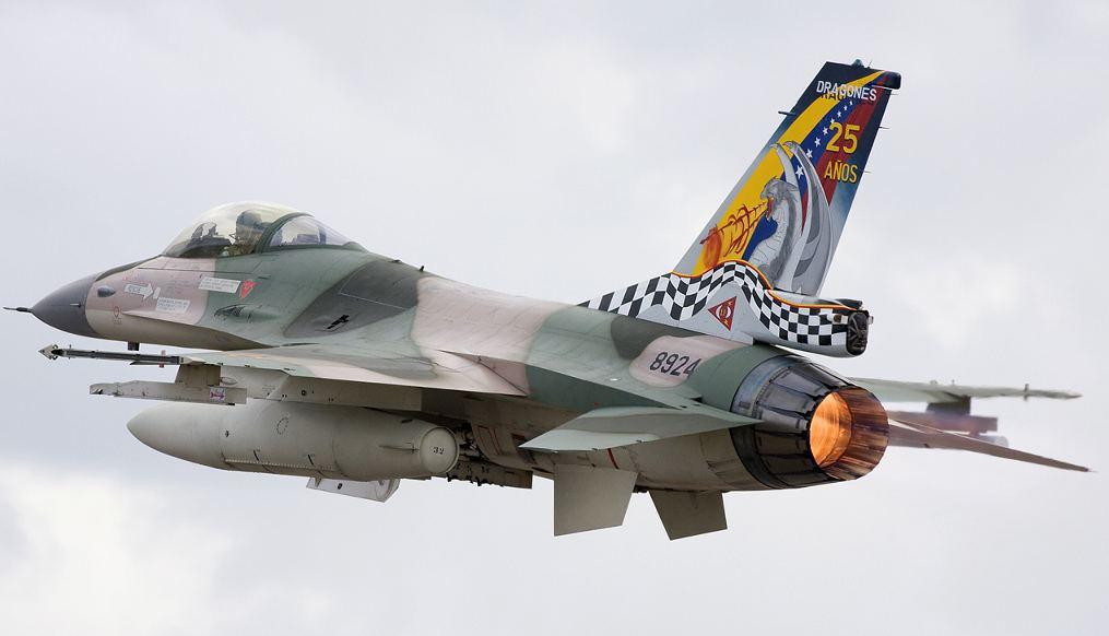 Venezuelan Air Force General Dynamics F-16A Fighting Falcon (401) Lofting