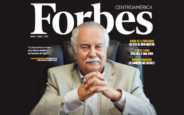 FORBES Central America cover May 2016