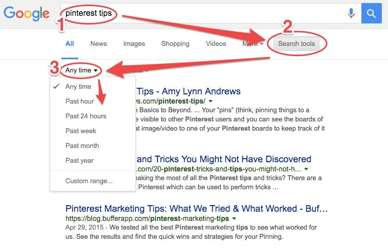 How to Filter Google Search Results By Date, Relevance – Q