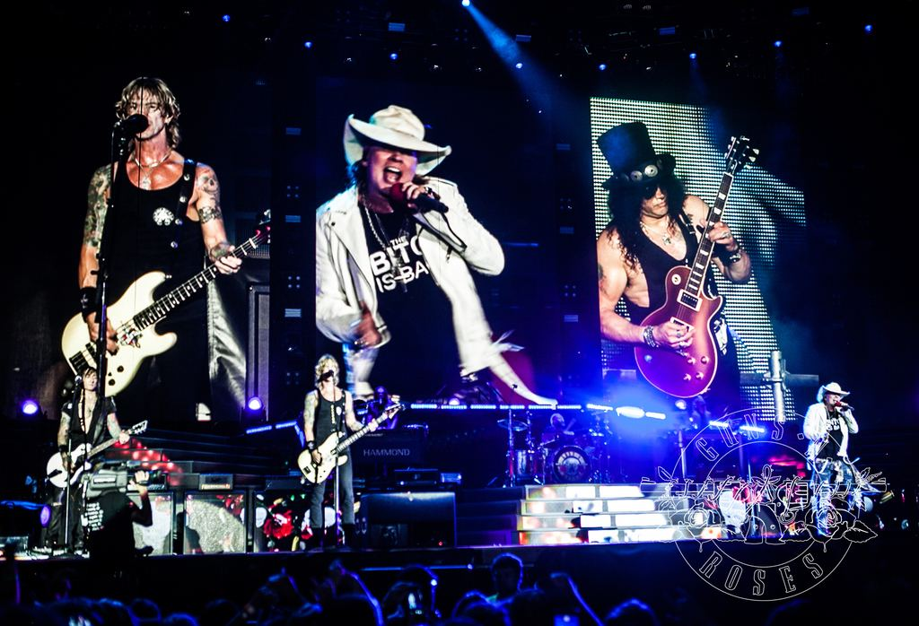 Guns N´Roses in Cincinnati, July 6, 2016
