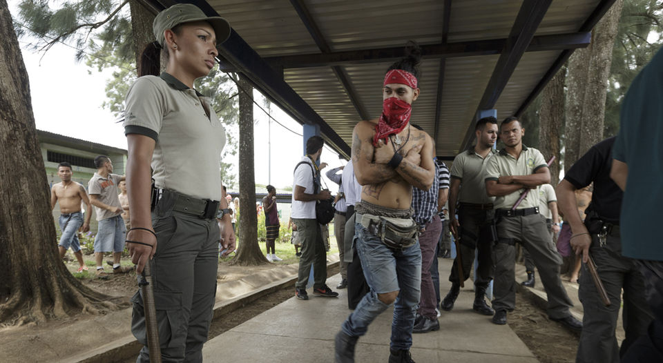The B area of La Reforma prison in Alajuela, houses 617 inmates, when its actual capacity is 352 inmates. | JORGE ARCE