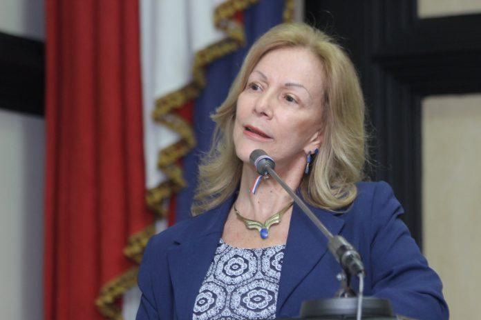 Cecilia Sánchez, ministra de Justicia y Paz. Foto: Prensa Asamblea Legislativa.