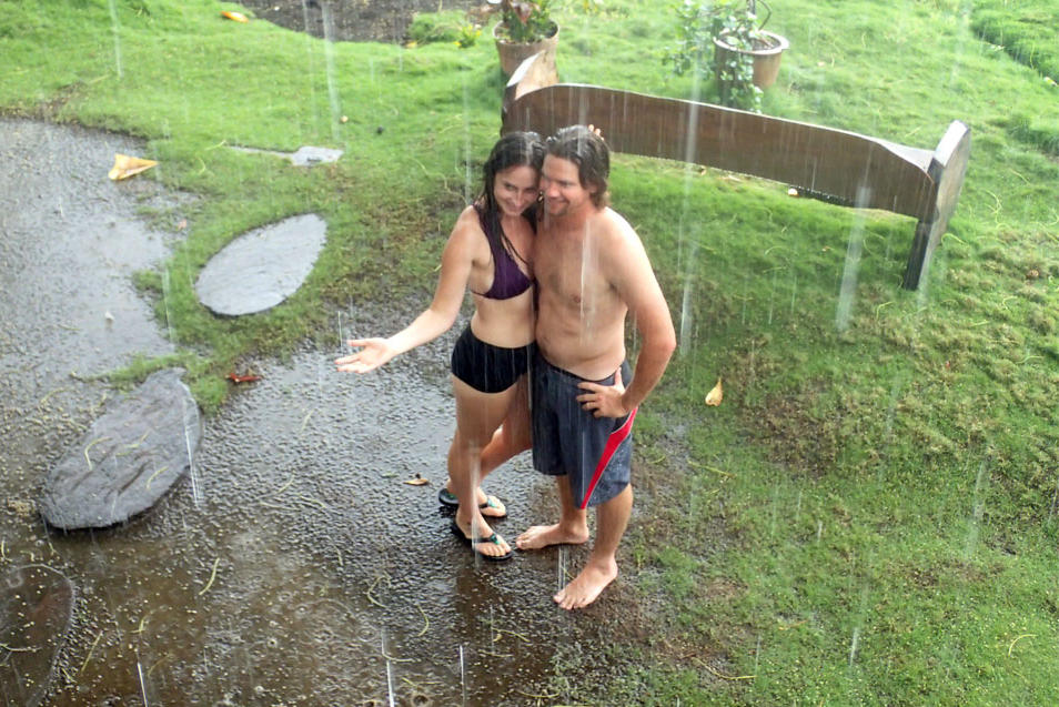 Let it rain. Though we arrived during the middle of the rainy season, our adventure in Costa Rica was scattered with both rain and sun, but never dipping below a comfortably warm temperature. Heavy downpours upon tin roofs harmonized with the crashing waves at nights and mid day showers danced within the day's spotlight. Photo from Carlsbadcrawl.com