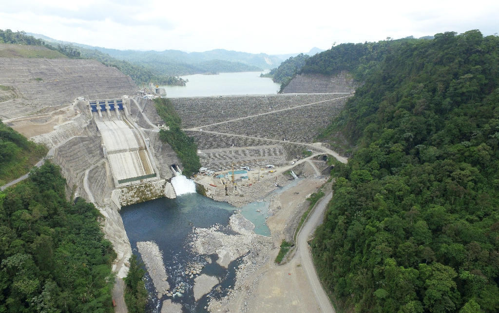 Biggest Concrete Plant In The Usa : Costa rica inaugurated largest hydroelectric plant in