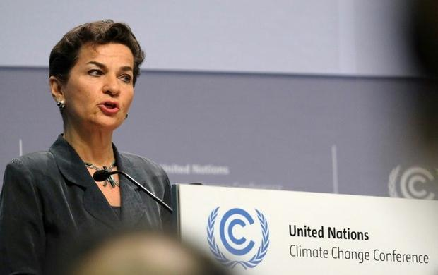 Costa Rican diplomat Christiana Figueres said Monday she has withdrawn her candidacy for the top post at the United Nations