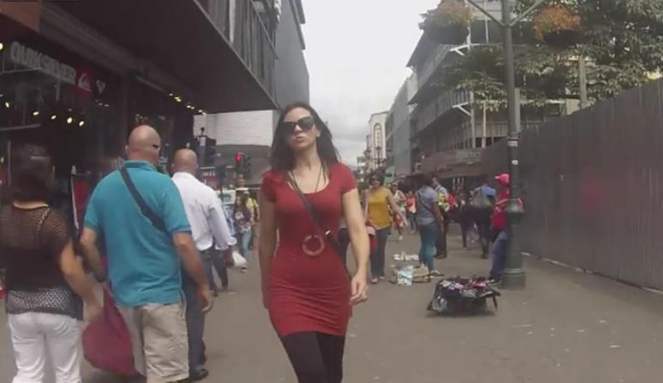 Documentrary aims to stop street sexual harassament in Costa Rica. Street sexual harassment is an every day thing in Costa Rica. A documentary with a hidden camera gives us a glimpse of what women live through daily on the streets of San Jose