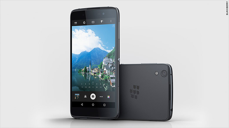 The BlackBerry DTEK50, unveiled in July.