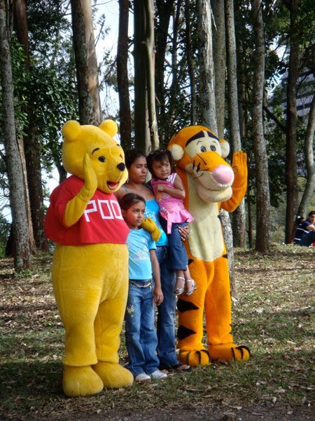 Winnie the Pooh and Tigger too.