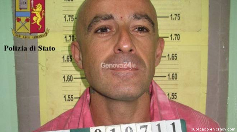 The Italian fugitive was arrested in Costa Rica after Italian authorities saw his social media posts