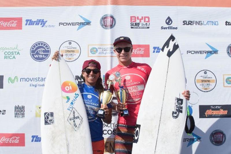 Silvana Lima and Ethan Ewing @ WSL/ Johan Pacheo
