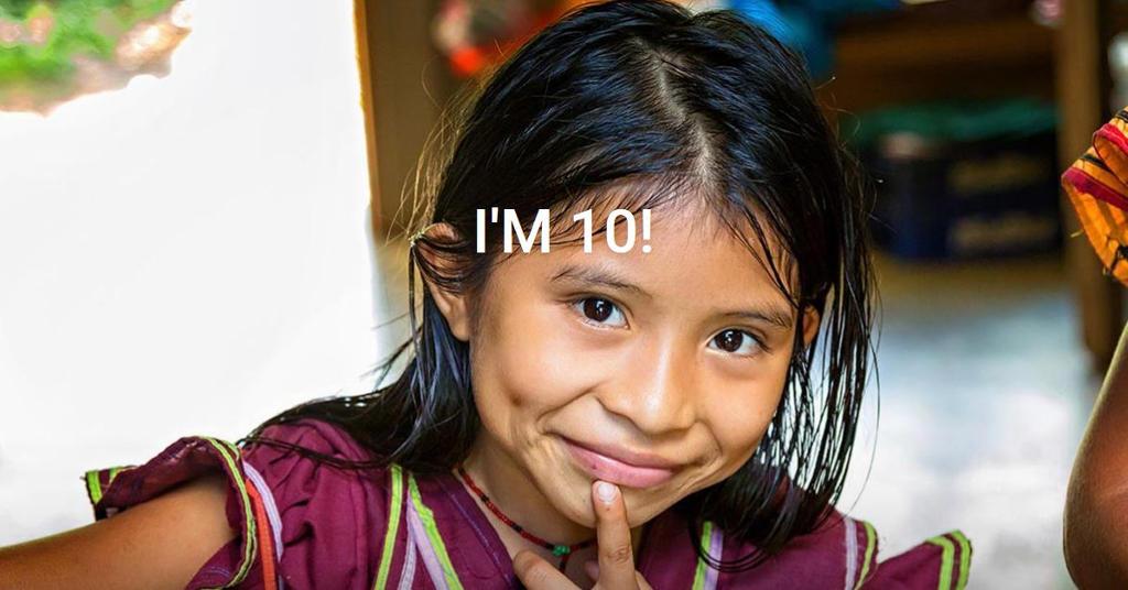 I'M 10. I'm the face of the future.
