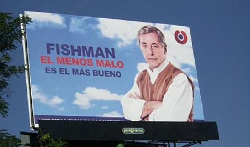 Billboard from the 2010 presidential campaing in Costa Rica