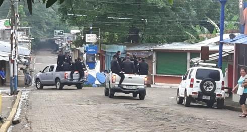 Violence and disturbances were reported in Nueva Guinea, León, Carazo, Chinandega, Rivas, Boaco, Chinandega and Caribbean North.