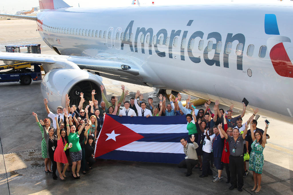 """""""American has a rich history in the Cuban market and we are excited to continue to be the leader in providing air service between the United States and Cuba, says airlines on its website."""