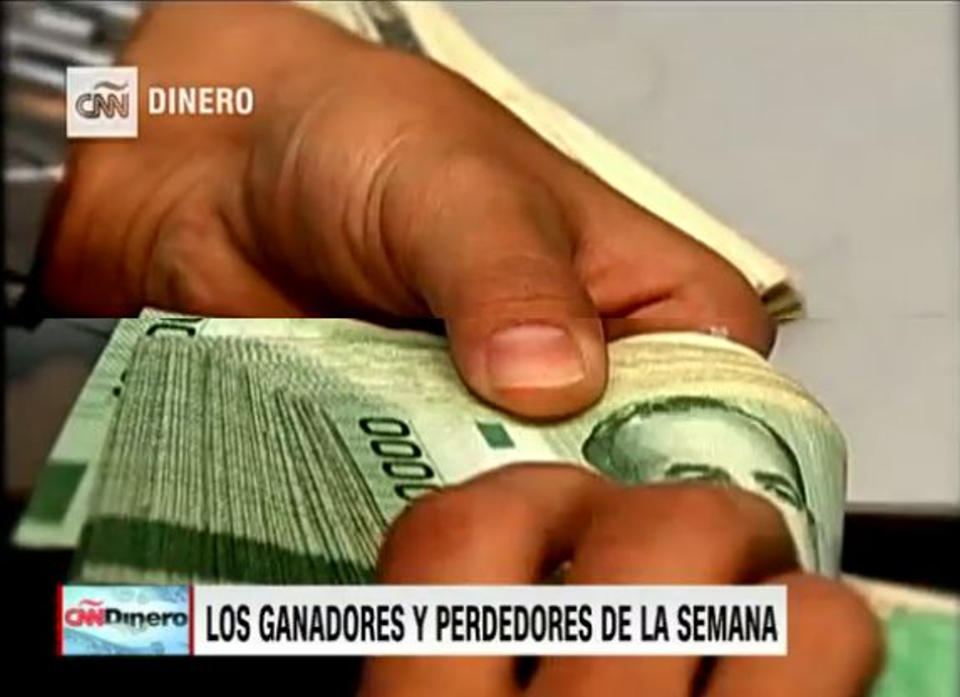 Screen capture from CNN Dinero video