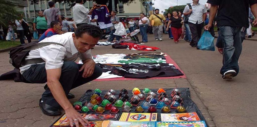 Street vending in San Jose