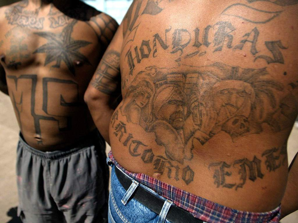 Nearly 70,000 gang members operate in the Northern Triangle countries of Central America, according to estimates by Honduran authorities (Photo: El Heraldo Honduras / Noticias de Honduras)