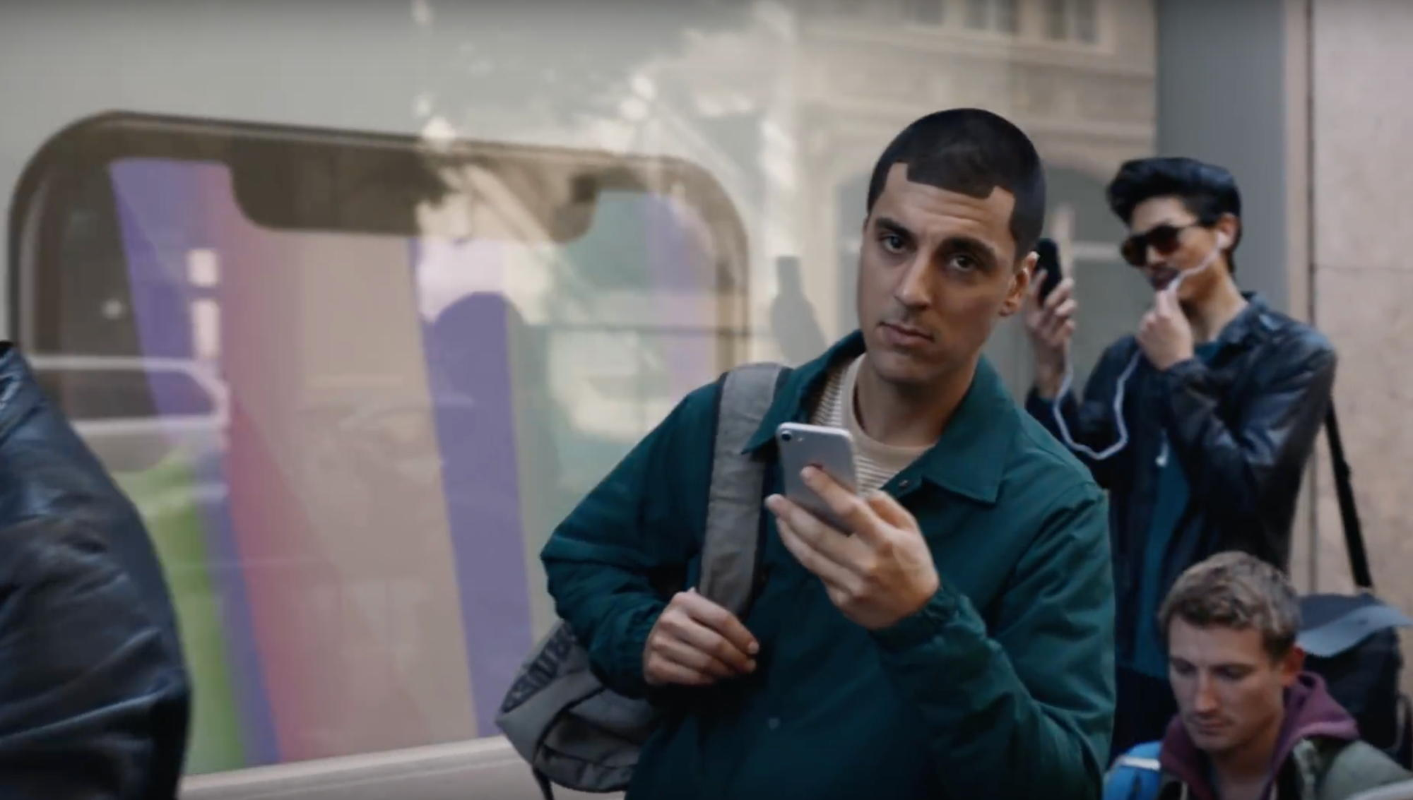 iphone samsung commercial
