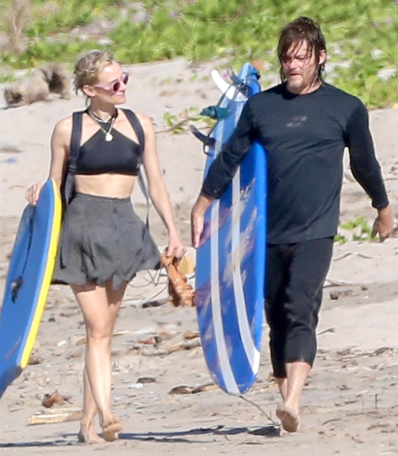 Diane Kruger and Norman Reedus' Golden Globes date night