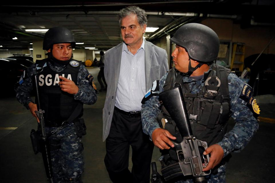 Oxfam chairman arrested in Guatemala