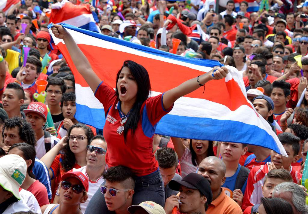 fcaec462f Costa Rica s national team and fans are ready for Russia in June. Photo  Diez.hn