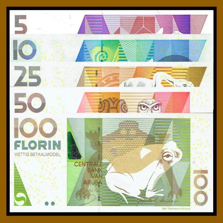 The Aruban Currency Florin Replaced Netherlands Antillean Guilder In 1986 But Us Dollar Is Widely Accepted On Island And Both