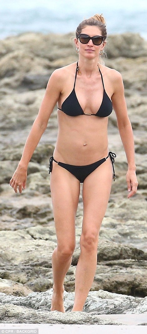 Gisele Looks Sensational In Skimpy Bikini In Costa Rica