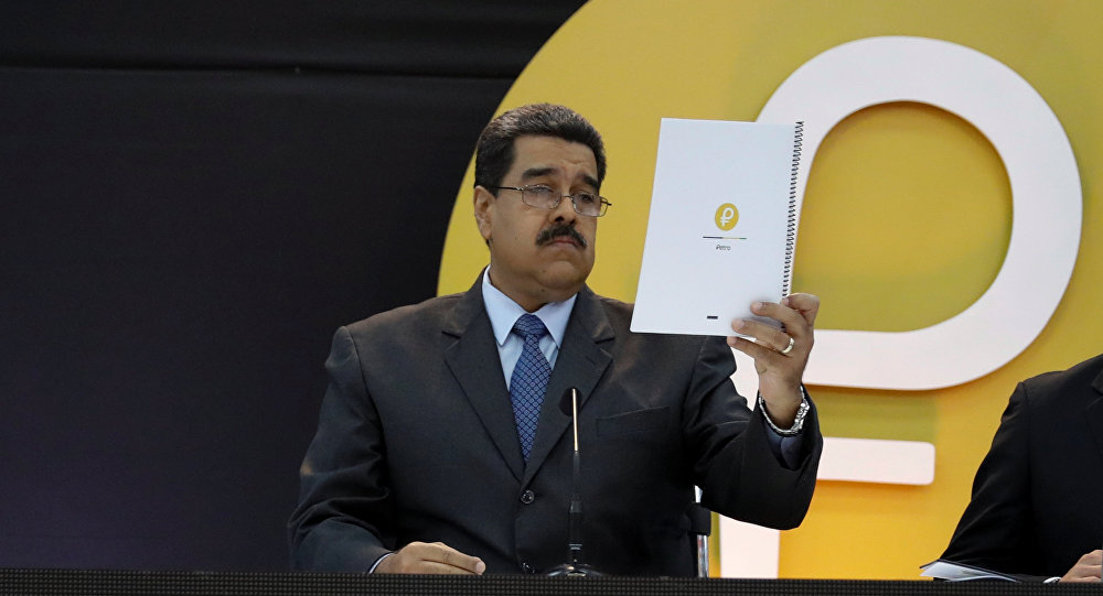 Venezuela's Maduro Says He Bought School Supplies, Goods