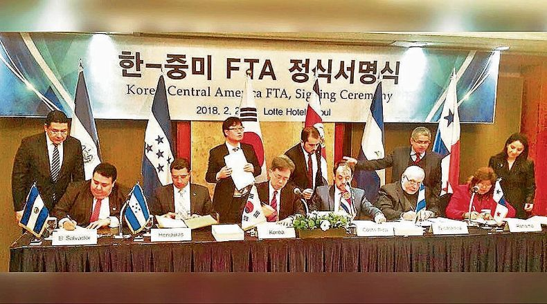 South Korea Ratified FTA with Central America | Q COSTA RICA